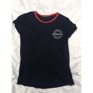 BNWOT Brandy Melville Los Angeles Locals Only Tee
